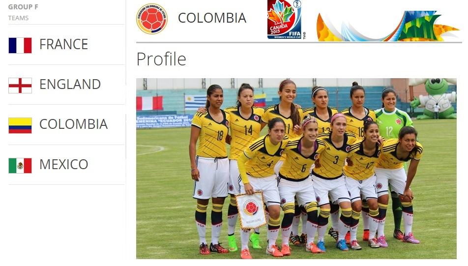 WWC2015 Canada - Colombia